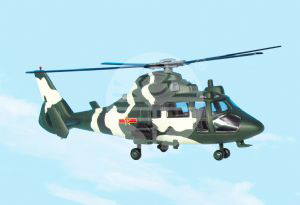Z-9 武装直升机(Z-9 Arm colored type Helicopter)